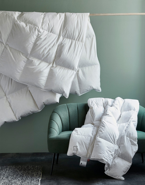 Scandinavian DUCK Down Comforter ALL-YEAR TWIN