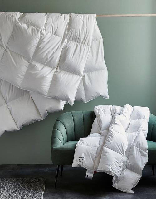 "Scandinavian DUCK FULL/QUEEN (European Size) Comforter ALL-SEASON 95x87"""