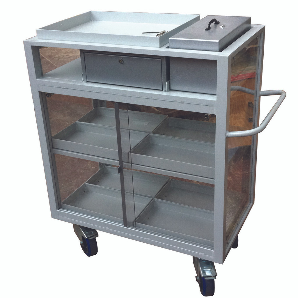 Cash Sales Trolley
