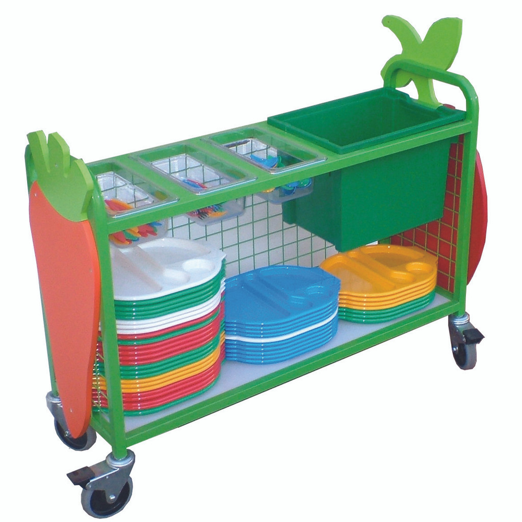 Knife and Fork Trolley with Large Box