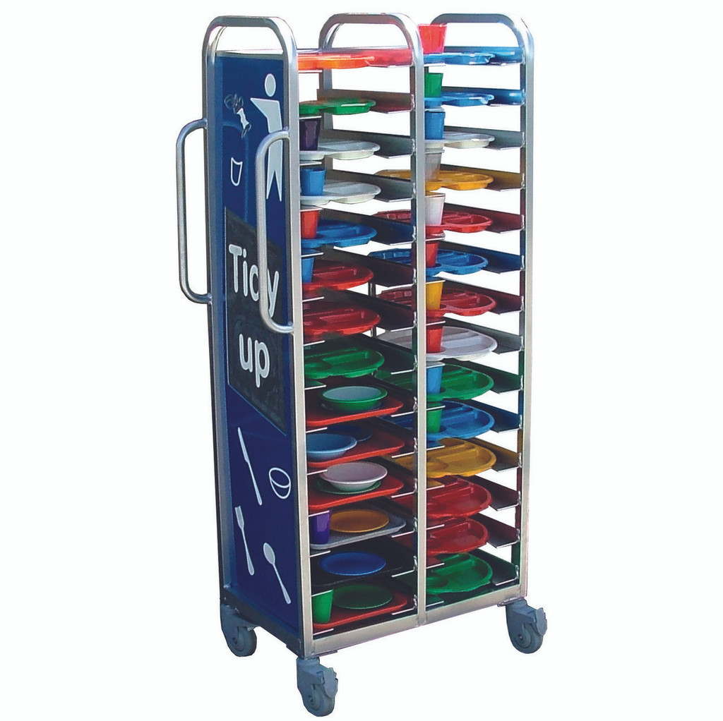 Stacking Tray Trolley