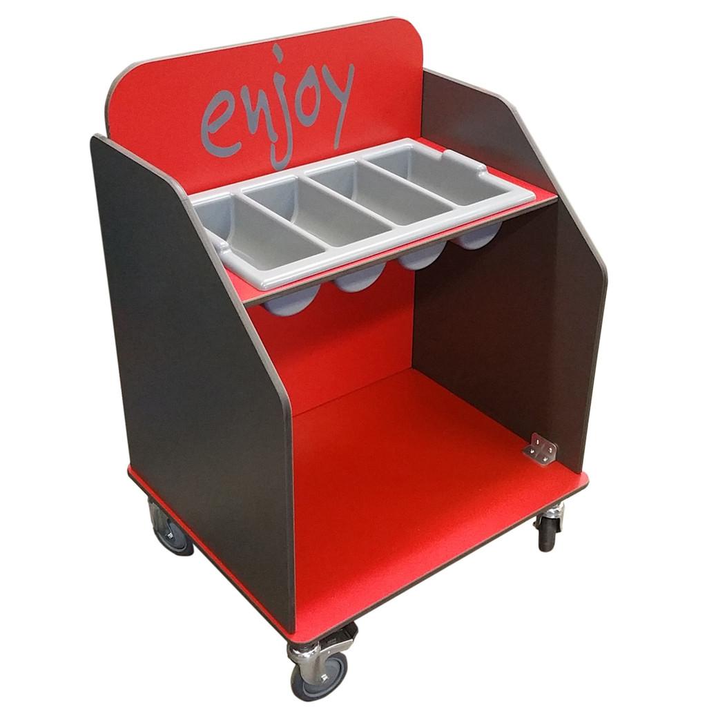 Aqua Smart Cutlery and Tray Trolley (CCT01)