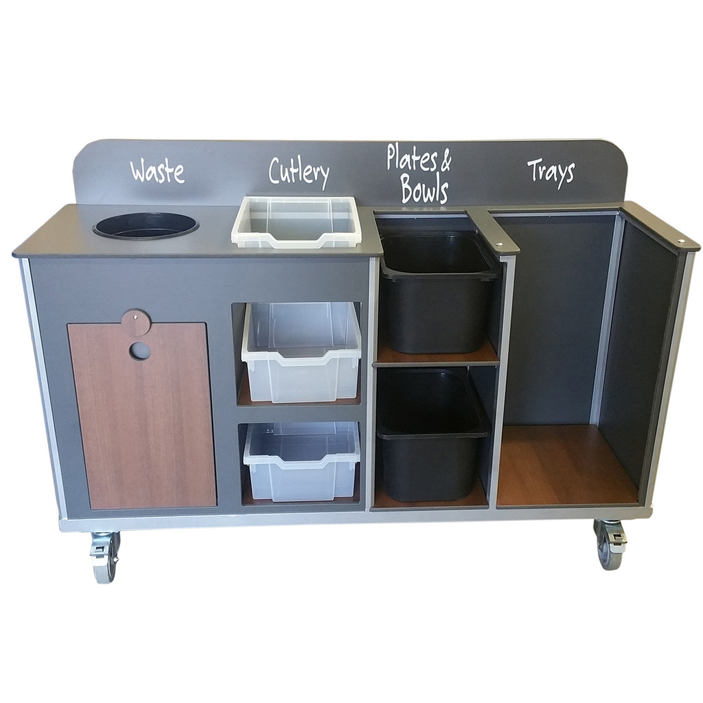 Compact Cleaning Trolley