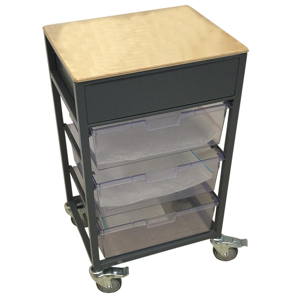 Display Tray Trolley