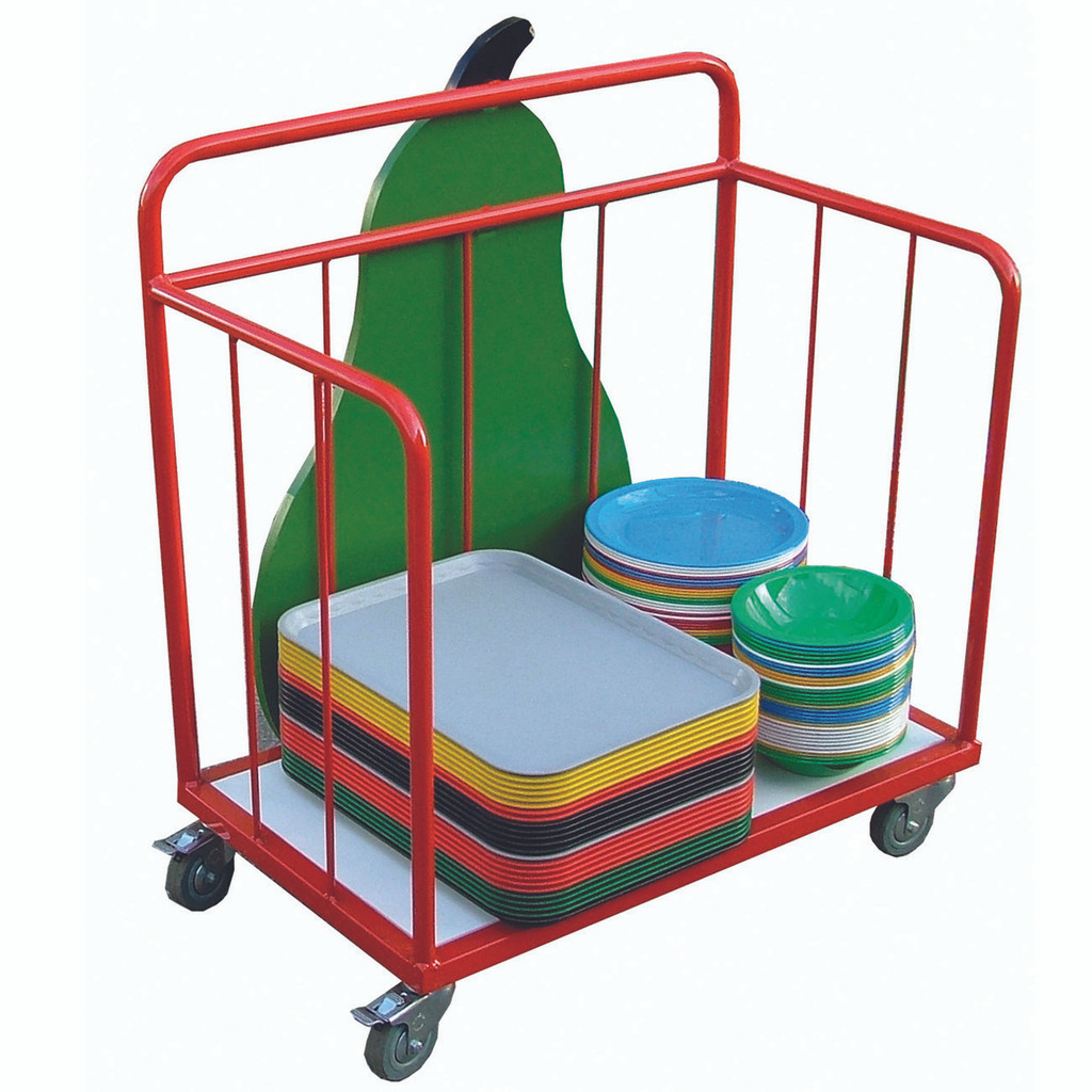 Tray trolley Included