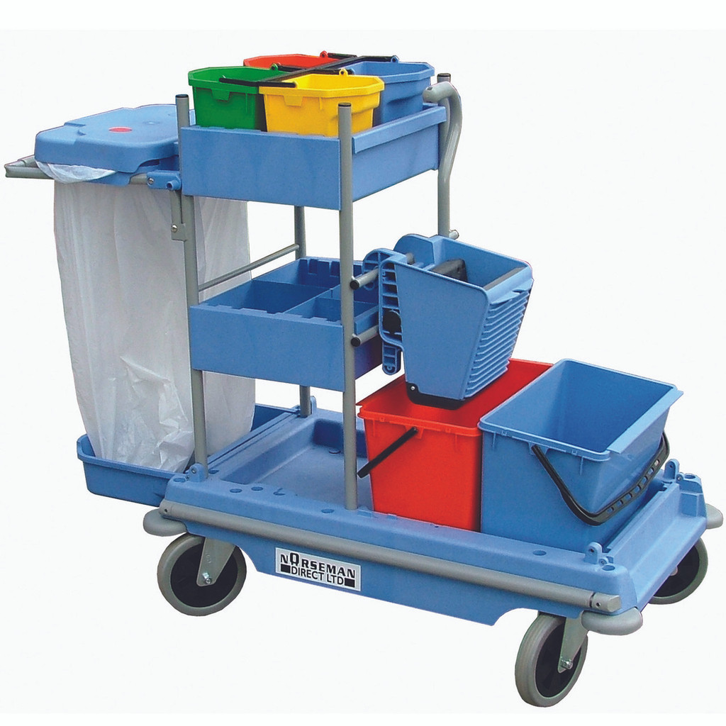 Multi-function cleaning Trolley