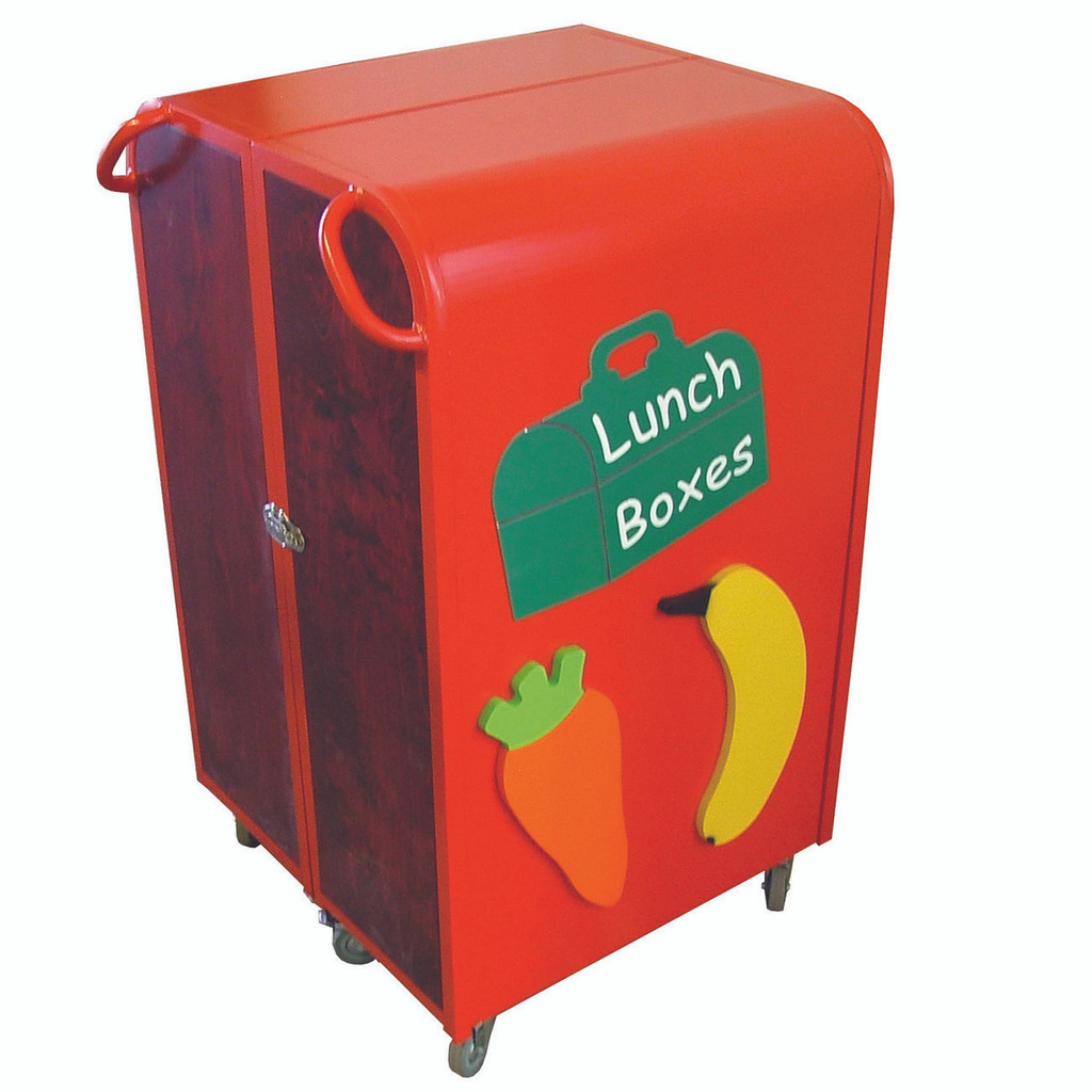 Lock in Lunch Box Trolley Fruit and Veg Design (1LOKN)