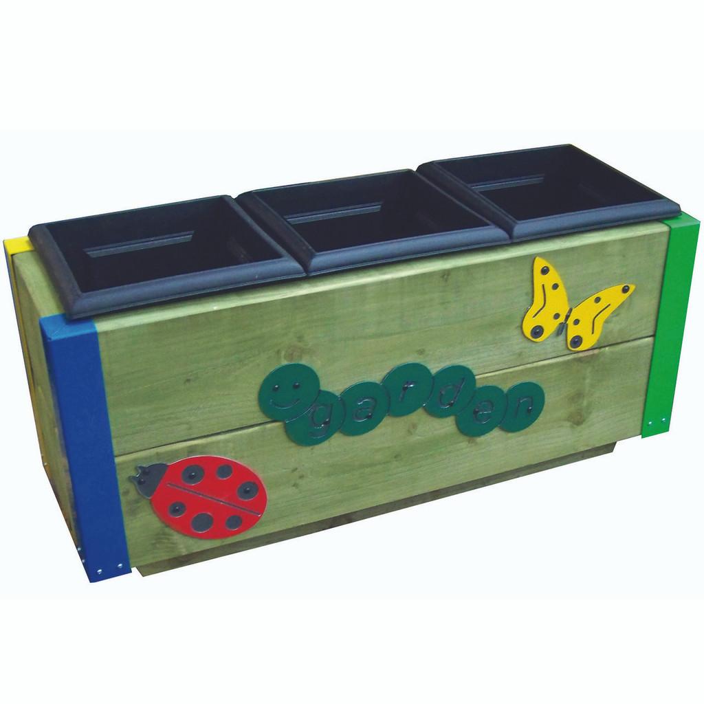 3 Planter Garden Box
