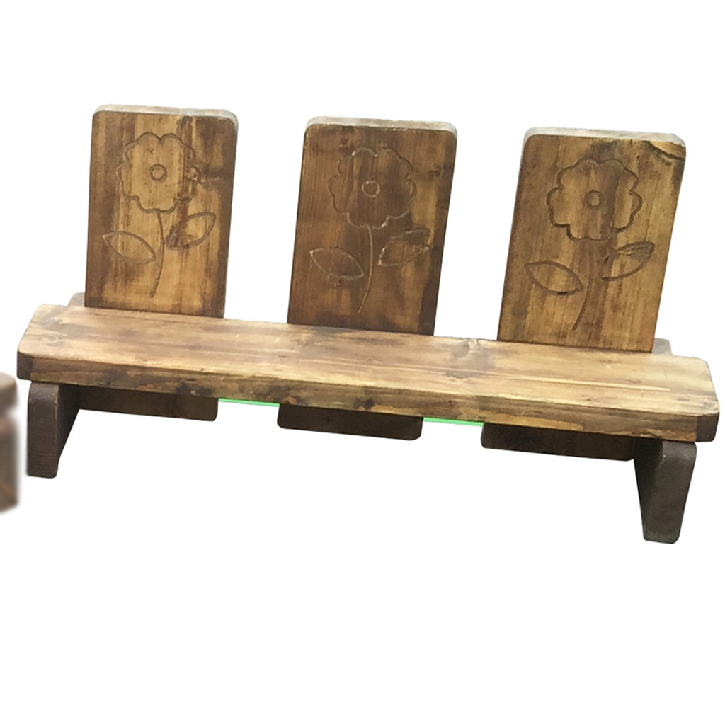 Fairy Tale Outdoor Seating Extra Triple Chair (OCS3)