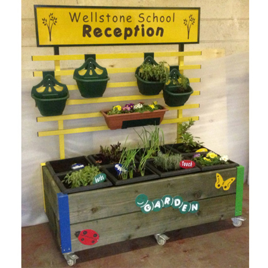 Garden in your classroom? All weather outdoor learning inside!
