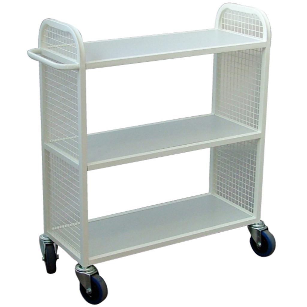 Steel Flat Shelf Trolley
