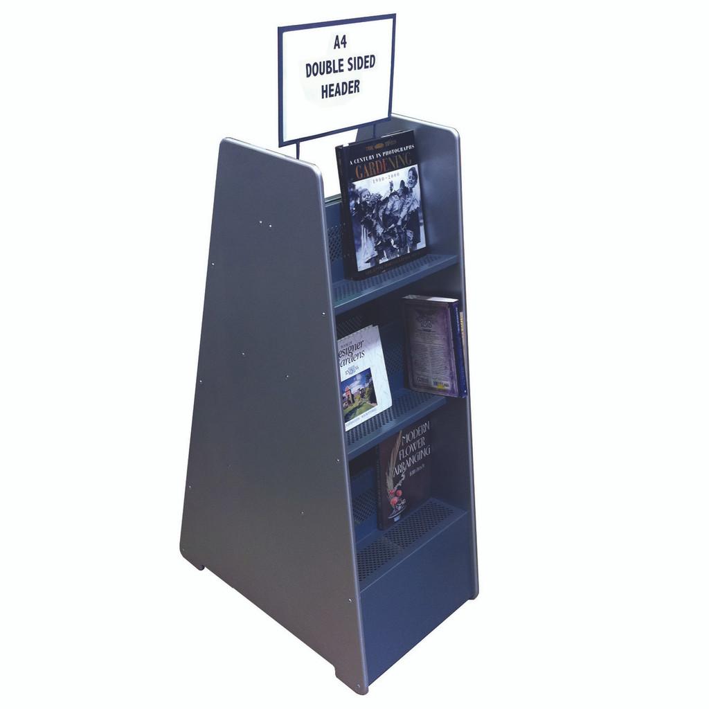 3 Shelf Book Display