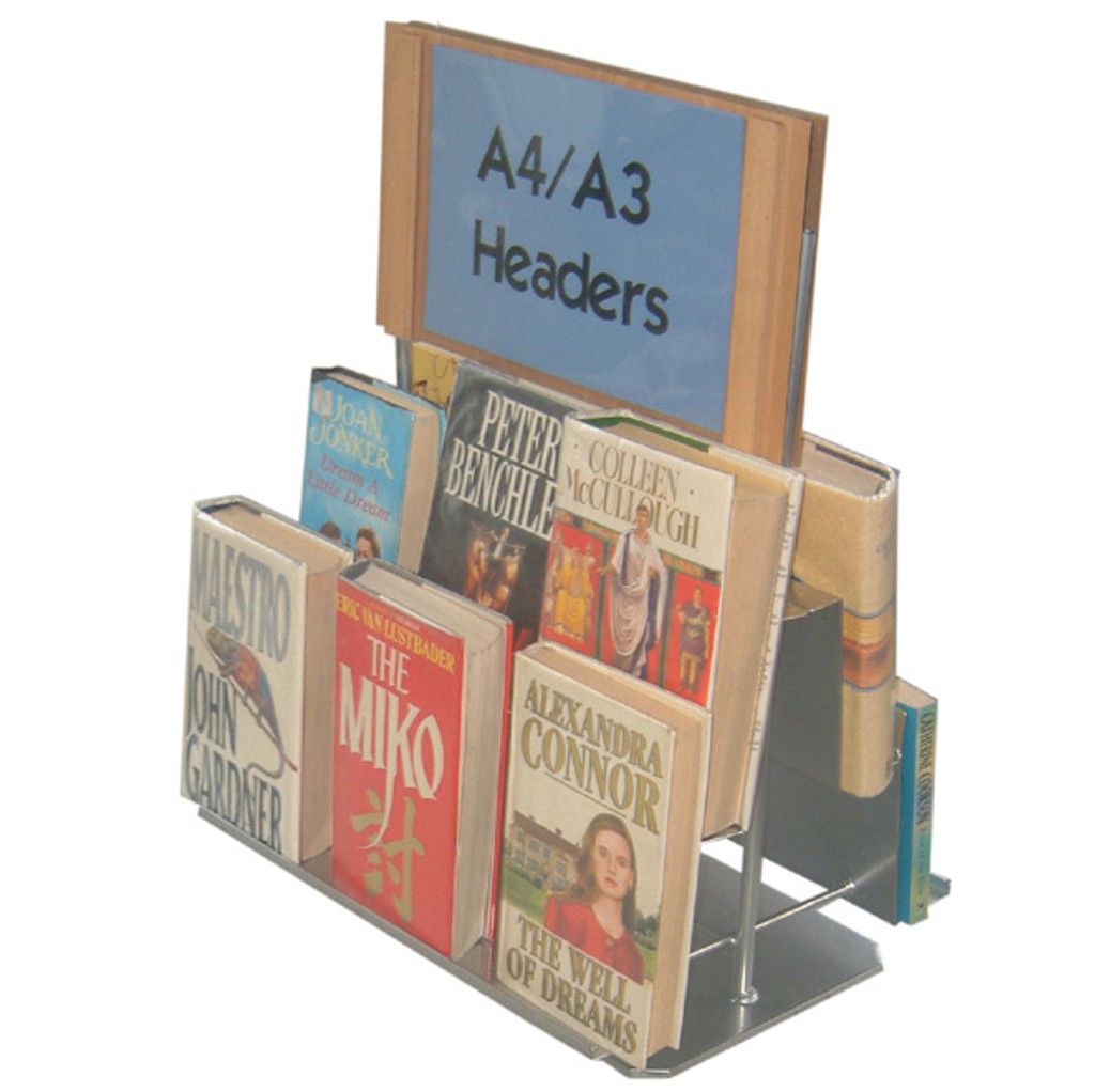 Double Sided countertop book unit