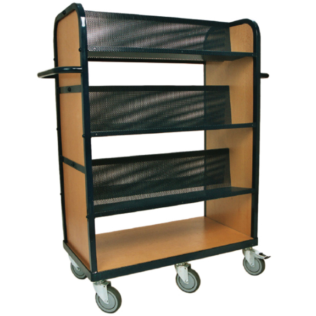 Heavy Duty Book Trolley