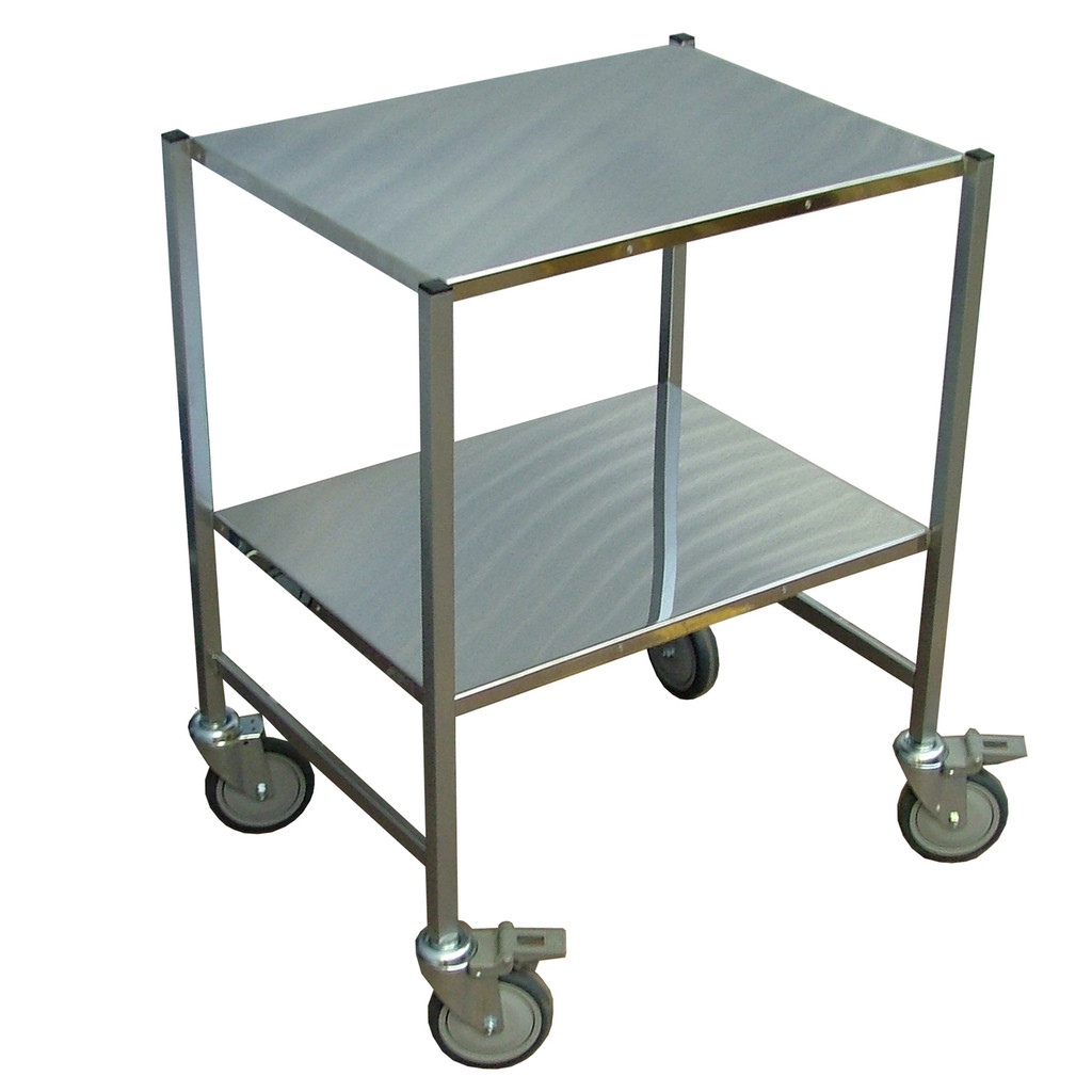 Small stainless steel Trolley
