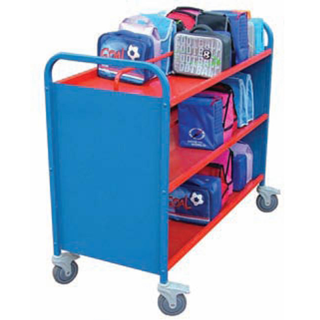 60 BOX ALUMINIUM TROLLEY