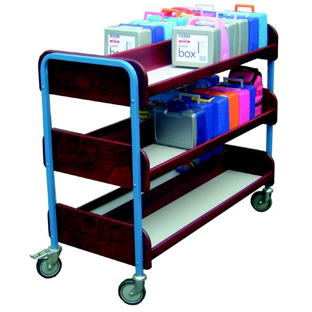 Best Seller Double Lunchbox 3 Tier Trolley