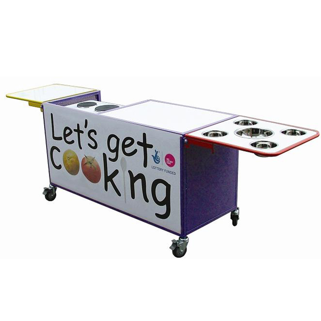 cooking trolley