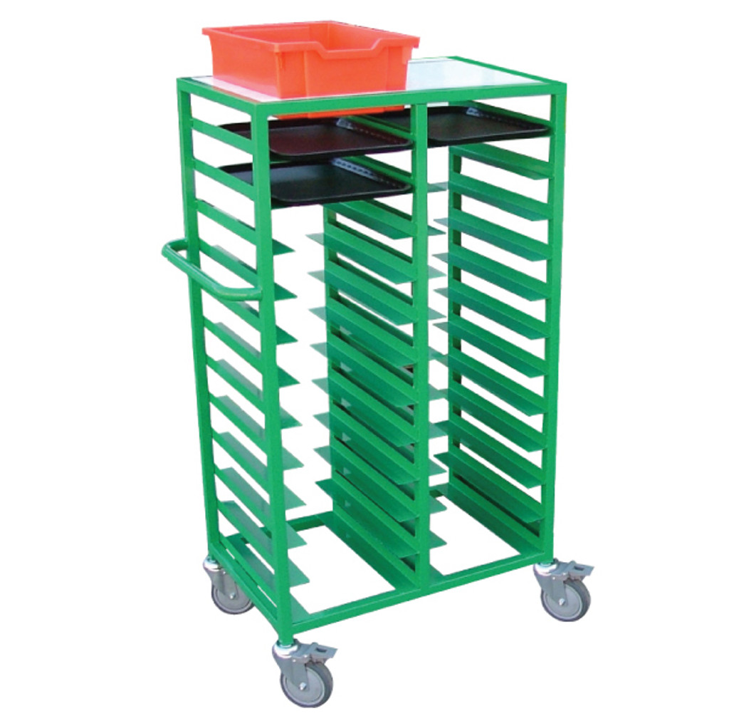 24 Tray Collection Trolley (FTTL24)