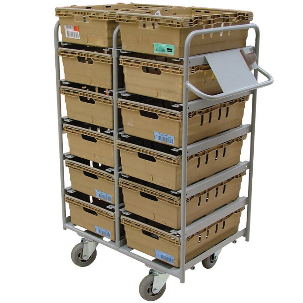 12 Box Aluminium Pick Trolley (BXAC12)