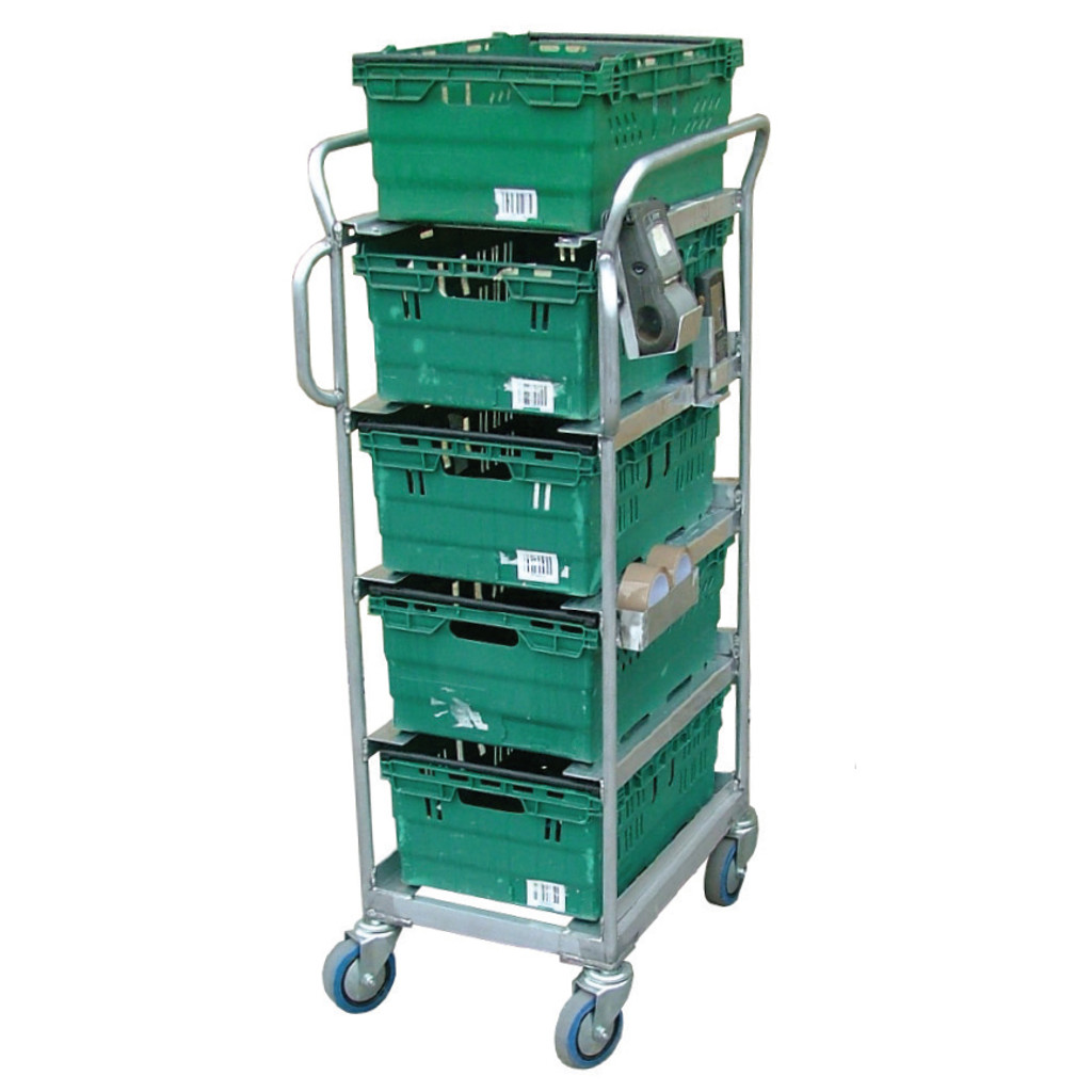 5 Box Aluminium Trolley (BXAP5)