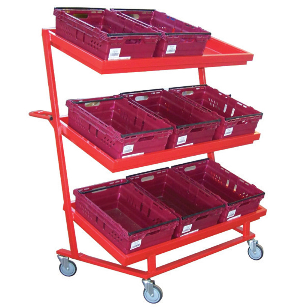 9 Tote Trolley with Nesting Feature