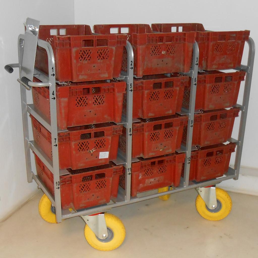 Tote Box Trolley