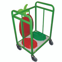 Tray Trolley With Novelty Fruit