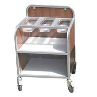 Aqua Smart Secondary Compact Cultery trolley