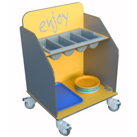 Tray and Cutlery