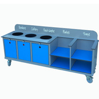 Secondary School Clearing Trolley - CTT11