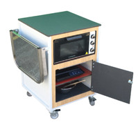 Complete Mini-cooking trolley.