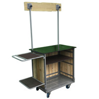 Portable Street Food Cooking Trolley (3SFCF )