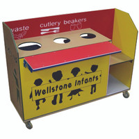 Playtec Clearing Trolley