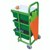 Mobile Fruit Trolley
