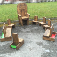 Fairytale Outdoor Seating set