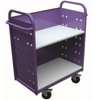 Aluminium 2 Shelf Trolley