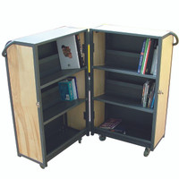 Lock in Book Trolley