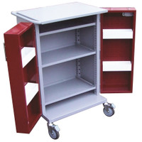 MDS Locking Meds Trolley