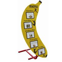 Banana Weekly Menu Board