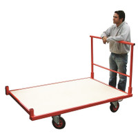 Large Flat bed Trolley