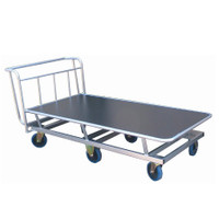 Raised platform trolley