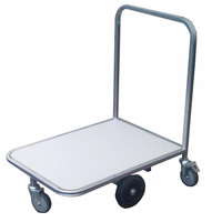 Centre wheel makes its ideal for use in elevators.