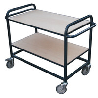 FS2 2 Flat Shelf Trolley