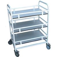 3 Flat Shelf Trolley