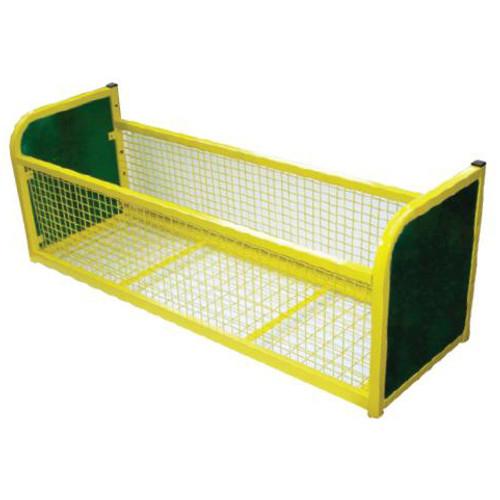 Modular Cloakroom Mesh Storage Unit