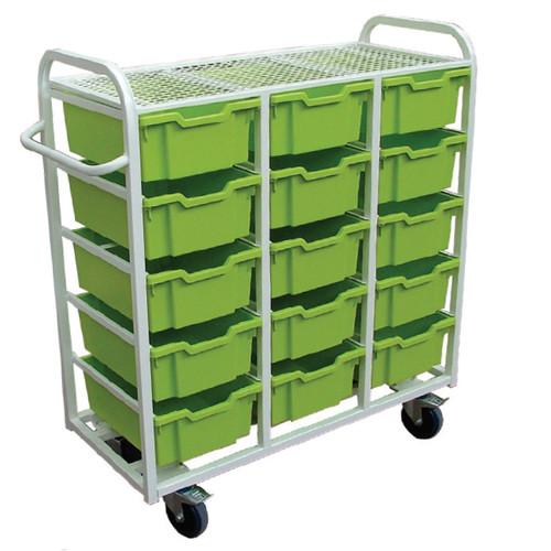 15 box trolley
