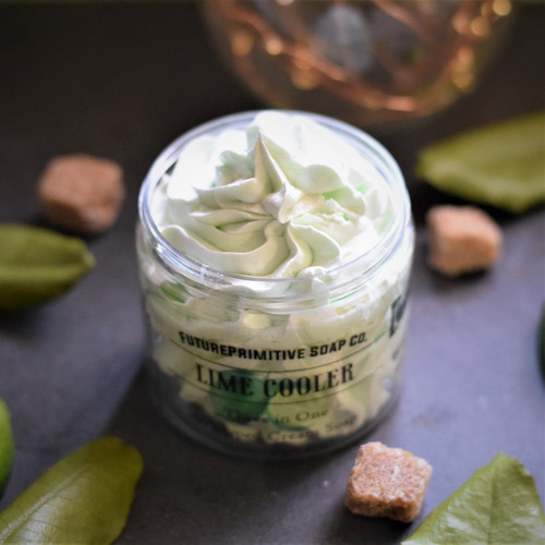 Lime Cooler Whipped Soap