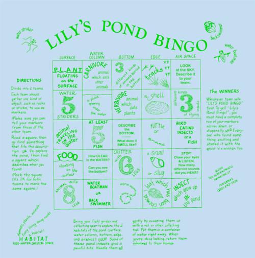 Lily's Pond Bingo Fundana