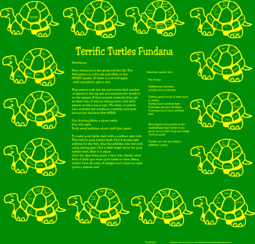 Terrific Turtles Fundana